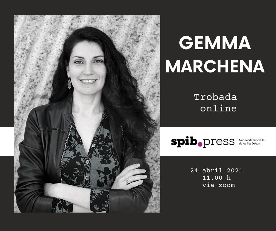 """Gemma Marchena: """"Quan escric literatura no necessito aferrar-me a la realitat. Jo dicto les normes"""""""
