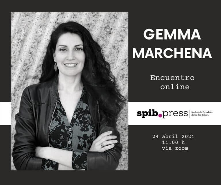 """Gemma Marchena: """"Cuando escribo no necesito aferrarme a la realidad. Yo dicto las normas"""""""