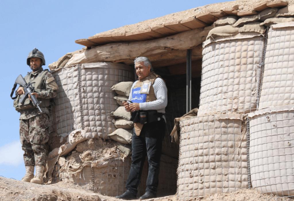 periodistes afganesos